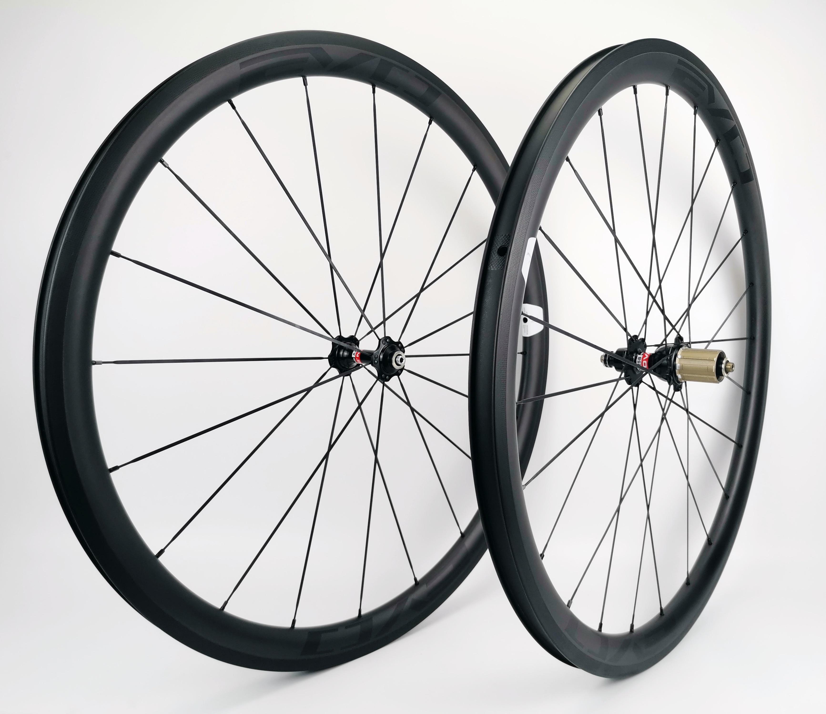 700C 25mm width 30mm depth clincher rim carbon bike rim 3K matte for road bike