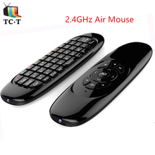 [Original] C120 Air Mouse 2.4GHz WirelessKeyboard  Remote Control T10 axis gyroscope Gaming for Android Google TV BOX