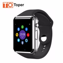 2017 Best WristWatch Bluetooth Smart Watch Sport Pedometer With SIM Camera Smartwatch For Android Smartphone Russia T50