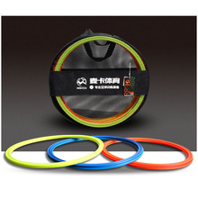 MAICCA Soccer speed ring with carry bag agility rings football training equipment Physical pace lap 40cm 12 pcs pack(China)