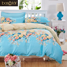 New arrival Green Flower Bed Cover Queen/King/Single/Double Cartoon High Quality Kids Bed Linen China Bedding