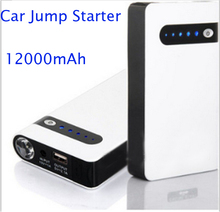 12V power bank Emergency battery charger 12000mah for Mobile Phone and car jump starter notebook computer ipad UPS Backup power(China)
