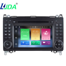 "LJDA Octa Core2 din 7"" Car Radio DVD Player for Benz B200 A-W169 B-W245With GPS Navi /IPOD/BT/Radio/AUX IN/DVR/Video/Map/3G(China)"