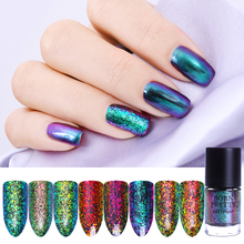 BORN PRETTY Chameleon Nail Polish Sequins Varnish 9ml Vernis Ongle The Diva Dance Indian Peacock Nail Lacquer Manicure Color(China)
