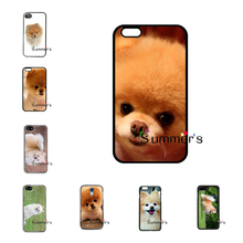 back skins cellphone case cover for Samsung Galaxy S3 S4 S5 mini S6 S7 edge plus+ Note2 3 4 5 pomeranian puppy dog cute