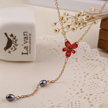 Hermione Granger necklace Horcrux high quality red rhinestone pendant for women wholesale
