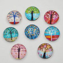 10pcs New tree crystal glass fridge magnet stick Refrigerator Sticker Magnetic Stickers funny gift home decor