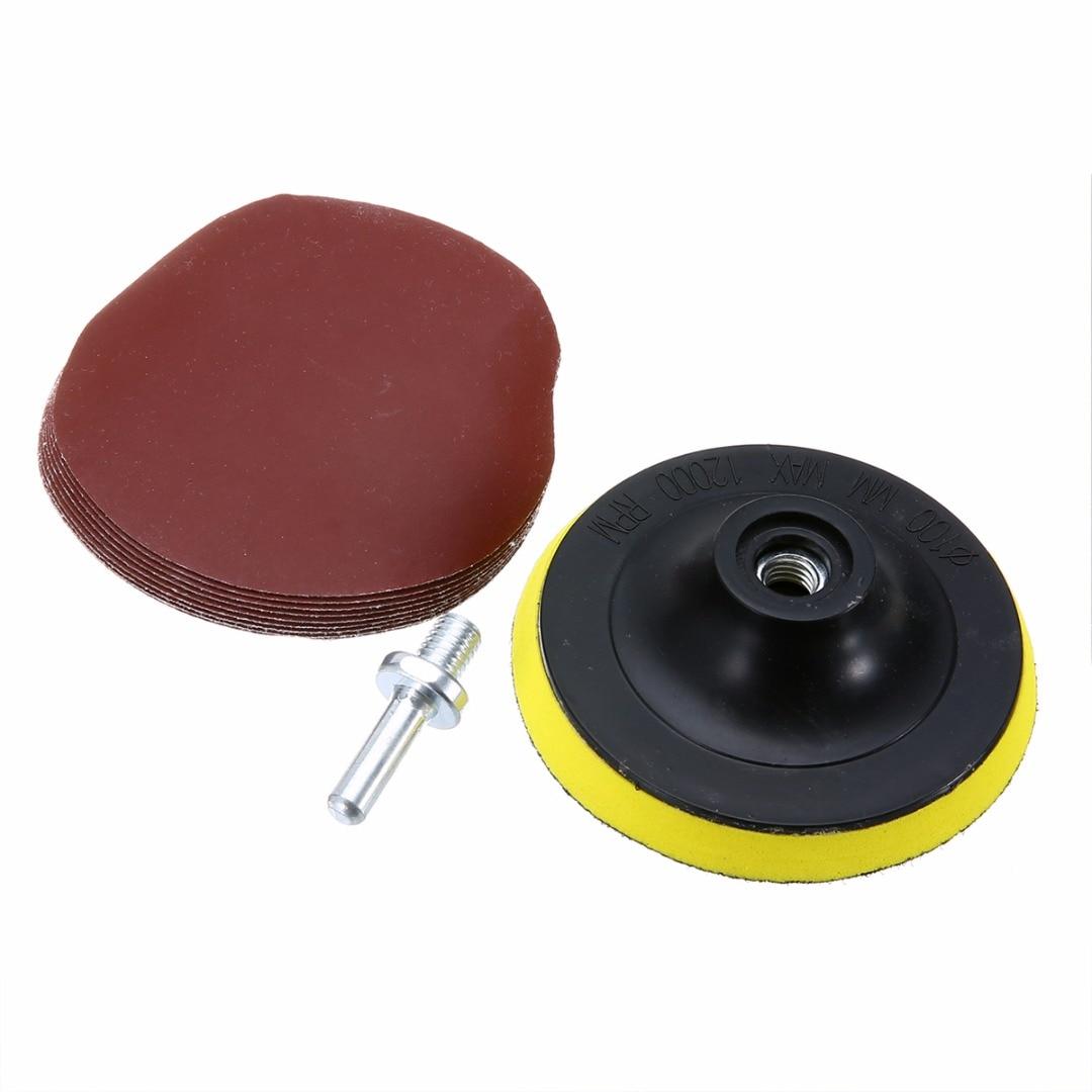 2inch Sander Disc Sanding Polish Backer Hook Loop Plate 3mm Shank FiFHFS