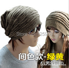 Free Shipping 2014 New Fashion 5pcs/lot knitted beanies for men/women,fashion and popular hats caps