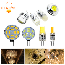 12V G4 LED Bulb Lamp 2W 3W 4W LED Light Replace Halogen Lighting 4pcs/Lot