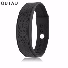 OUTAD Inteligente Heart Rate Monitor H5S Band Temperature Fitness Bracelet Activity Tracker Wristband Sport Style relogio