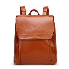 G60 2016 Women leather backpack female leather bags student school bag tide travel bag PU leather Shoulder bags Totes Backpack