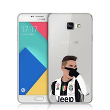 Juventus Paulo Dybala TPU Football Phone Cases for iPhone 6 6s 5 5s SE 7 7Plus For Samsung J7 S6 S7 Edge For Huawei P8 Lite 2017