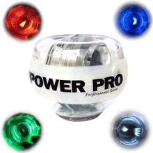 Gyroscope 12000 RPMS Led Light Gyro Power Wrist Arm Exercise Strengthener Force Ball