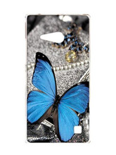 Case for Nokia Lumia 735 730 , FREE SHIPPING,Mickey Flower butterfly cartoon case for Nokia Lumia 735 case