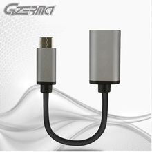 USB Type-C Connector USB 3.1 OTG With 0.2m Cable length Durable Type-C To USB 3.0 Charger Adapter For All Type-C Smartphone(China)