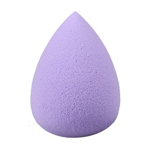 2017 Makeup Sponge Puff Water Droplets Soft Beauty Make up Foundation Powder Brush Cosmetics Purple