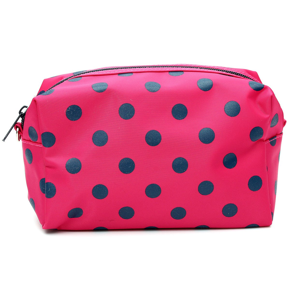 Wholesale 10* Cosmetic/Make-Up/Organizer Bag Pouch Zipper Hand Case Rose Red<br>