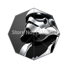Fashion Design Umbrella Custom Star Wars Storm Trooper Umbrella For Man And Women Free Shipping Hot Sale UMN-404