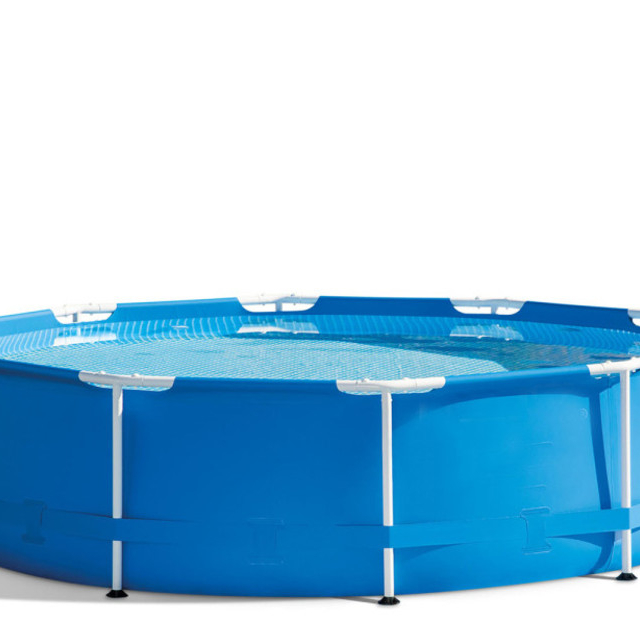 Secure 1,100 Gallons of Water Swimming Pool with Filter Pump