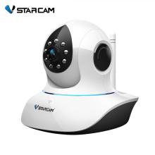 Vstarcam C7838WIP P2P Plug and Play 720P MegaPixel HD Wireless IP Camera with Pan/Tilt SD Card Slot and IR Cut 720p(1280x720)