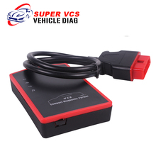 DHL Free Super VCS WIFI Universal Car Diagnostic Tool Super VCS Auto Code Scanner OBDII Interface VCS Scanner(China)