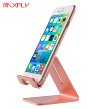 RAXFLY Universal Aluminum Stand Holder For iphone 7 6 6S Plus SE For Samsung For Huawei For Xiaomi For Ipad Tablet PC Flexiable