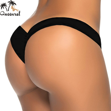 swimming suit brazilian bikini thong bikini swimwear women thong bathing suits swimsuit biquini bottom cheap thong bikinis thong(China)