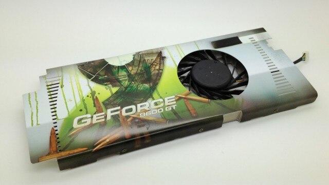 Xfx 9600gt 9800gt radiator 3 heatpipe copper radiator pwm fan<br>