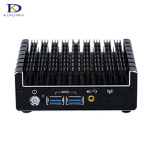 Thin Client Fanless Mini PC Intel Core i7 5500U Desktop PC HTPC DP HDMI Nettop TV Box PC Windows10 OS HD Graphics5500