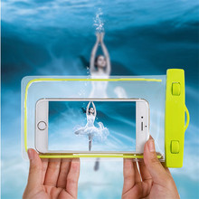 Waterproof Underwater PVC Package Pouch Diving Bags For iPhone Outdoor Mobile Phone Pocket Case For Samsung Xiaomi HTC Huawei