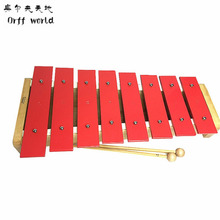 Orff World Infants Early Childhood Toy Musicial Instrument 8 Notes Wooden Xylophone Childhood Wisdom Music Instrument(China)