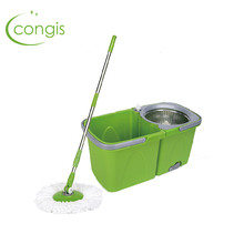 Congis 1PC Ultrafine Fiber Fully Automatic Mop Double Drive Stainless Steel  Home To Avoid Hand wash Floor Cleaning Tools