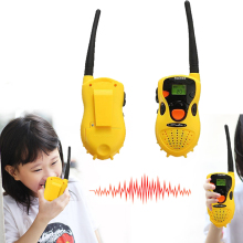 2pcs Kids Handheld Intercom Electronic Walkie Talkie Toy Two-Way Radio