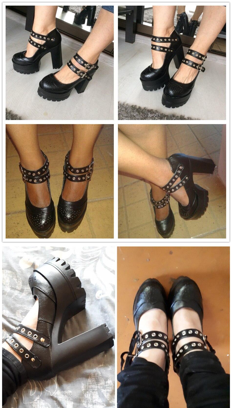 Kõrged mustad kingad