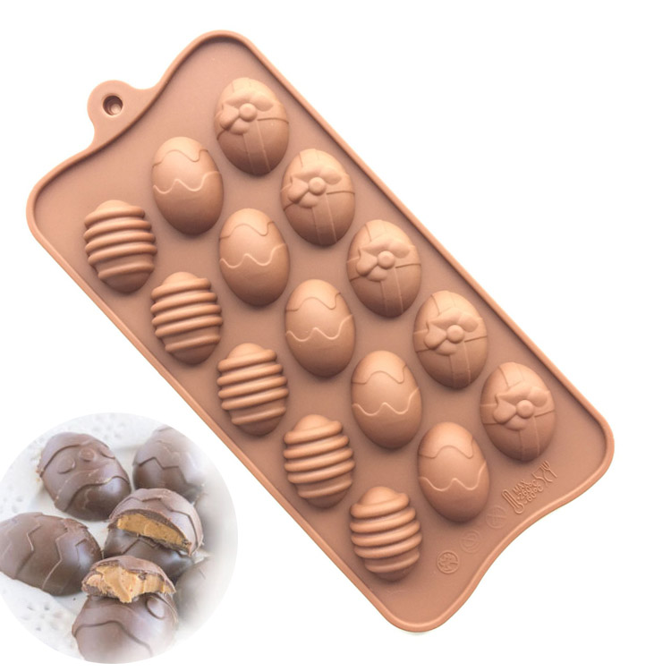 Easter egg silicone mold