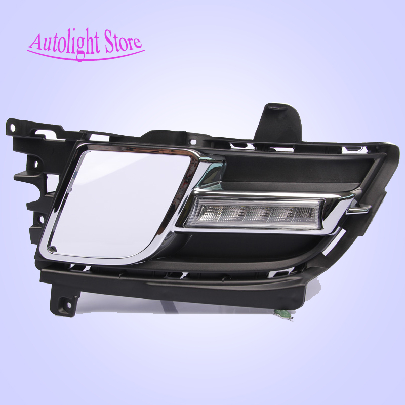 Special for Mazda 6 Daytime Running Lights LED DRL White 12V 6W 2PCS 6LED 6000k Super Bright led for mazda drl fog light<br><br>Aliexpress
