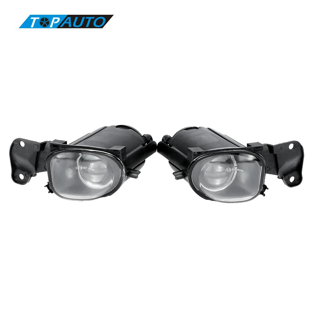 1 Pair Fog Light Lens for AUDI A6/S6 LED Lamp Bulb Offroad Replacement Set Car-styling Fog Light Bar Tail Lights for Trailers<br>