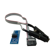 Best Quality Test Clip/ IC Flash Clip SOIC8 SOP8 IC USB Programmer For BIOS 93/25/24 TL866CS TL866A EZP2010 EZP2013 RT809F(China)