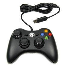 USB Wired Game Pad Joypad Controller For MICROSOFT Xbox 360 Slim Gamepad Joystick PC Laptop Black for Windows 7 Hot Worldwide