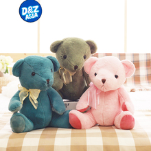 Genuine Rose Teddy Bear lovers wedding Teddy Bear plush toy doll lovers pillow Valentine's Day gift(China)