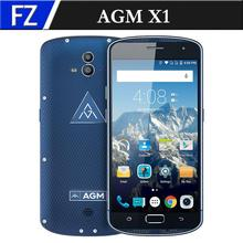 "Original AGM X1 IP68 Waterproof Dual Rear CAM 4GB RAM 64GB ROM 5400mAh 5.5"" FHD Octa-core Android 5.1 OTG NFC 4G Fingerprint"