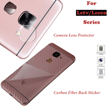For Letv Leeco Le Max 2/Pro/3/S3/1s/Cool 1 X820 Camera Lens Protector Tempered Glass Carbon Fiber Back Sticker Cover Accessories