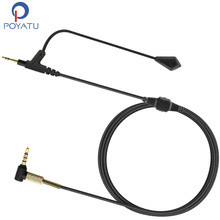 Boom Microphone Universal Volume Cable for Sennheiser Momentum On-Ear Over-Ear to Gaming Headphone For Skype PS4 Xbox One phone(China)