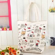 hello kitty handbag Women Casual shopping bag Cartoon bag women tote picnic bag High capacity shoulder bags