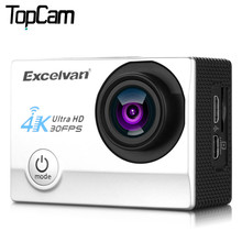 Excelvan Action Camera Q8 2.0 inch WiFi 4K 30FPS 16MP H.264 30m Waterproof 170 Wide Lens Action DV Sports Camera