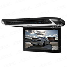 "10"" Flip Down Car DVD Car Roof DVD Roof Monitor Car DVD with Built-in HDMI Port & Sleek/Elegant Touch Panel Design"