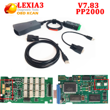 Newest Lexia3 PP2000 V7.83 with 921815C Firmware V48/V25 Lexia 3 diagbox 7.83 for Citroen for Peugeot Lexia-3 free ship