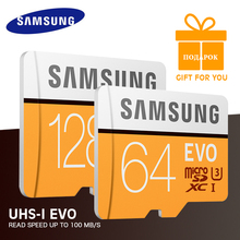 Original SAMSUNG Micro SD Memory Card 128GB EVO+ Plus 64GB 32GB 16GB Class10 TFCard C10 SDHC/SDXC UHS-I4K For Mobile Phone
