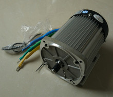 BM1424 2200w DC  72v  brushless motor without gearbox, Electric car BLDC motor